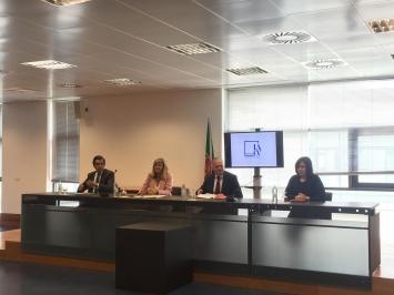 Cerimónia de protocolo de cooperação - GAT